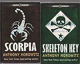 ALEX RIDER - SET OF 6 BOOKS - Scorpia - Snakehead - Ark Angel - Stormbreaker - Skeleton Key - Crocodile Tears.