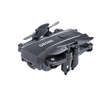 TwoCC Mini Drone,M9 2.4G WIFI FPV 5MP HD Selfie cámara de alta ...