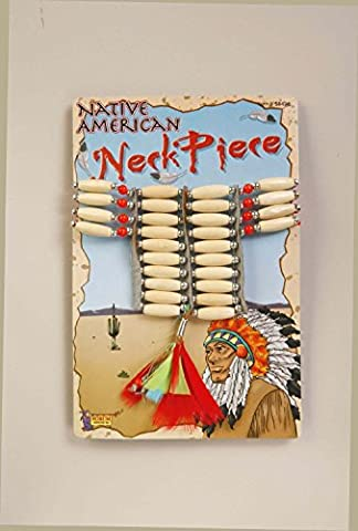 OvedcRay Womens Child Girls Native American Indian Princess Pocahonts Costume Necklace - Native American Art Masks
