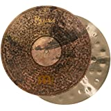 Meinl Cymbals B16EDMTH Byzance Extra Dry 16-Inch Medium Thin Hi Hat Cymbal Pair (VIDEO)