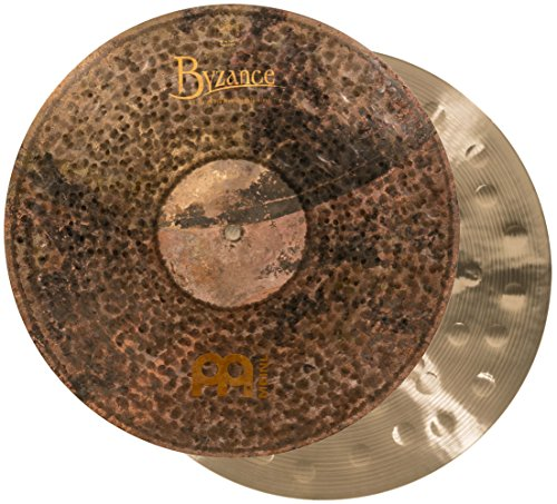 Meinl Cymbals B16EDMTH Byzance Extra Dry 16-Inch Medium Thin Hi Hat Cymbal Pair (VIDEO) ()