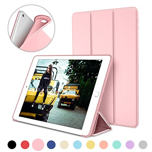 iPad-Case-for-iPad-Mini-4-DTTO-Anti-Scratch-Ultra-Slim-Lightweight-Auto-SleepWake-Smart-Case-Trifold-Cover-Stand-with-Flexible-Soft-TPU-Back-Cover-for-iPad-mini4-Rose-Gold