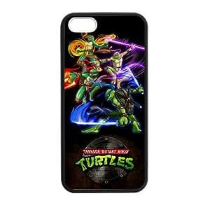 iPhone 5,5S Case Cartoon Teenage Mutant Ninja Turtles Have Own Skill iPhone 5,5S TPU (Laser Technology) by Maris's Diary