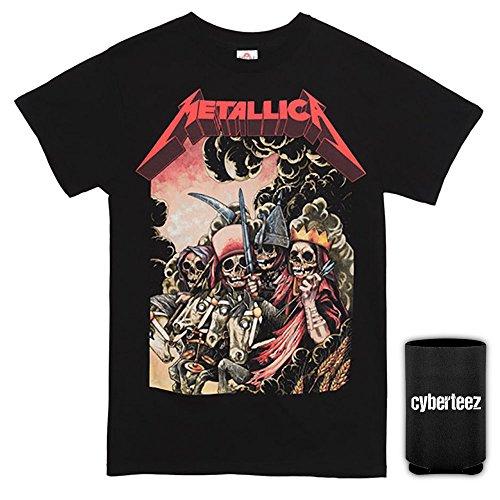 Metallica Four Horsemen Men's Black T-Shirt + Coolie (XL)