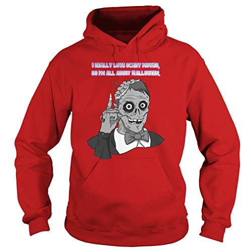 i really love scary movie so im all about halloween Hoodie