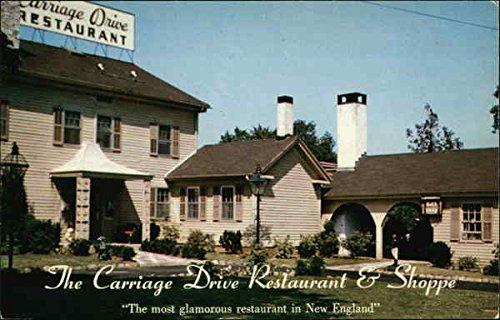 Carriage Drive Restaurant   Shoppe Hamden  Connecticut Original Vintage Postcard