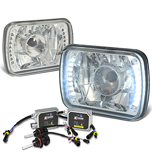 Square Projector Headlight Clear Ballasts product image