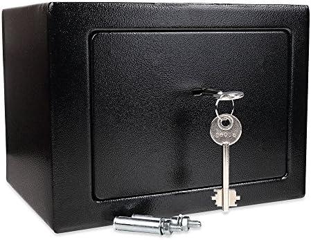 Schramm® Caja Fuerte Caja Fuerte con Cerradura Mini Caja Fuerte ...