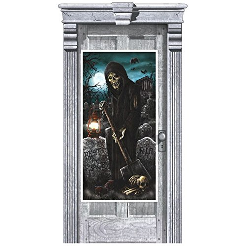 Grim Reaper Door Cover | Halloween Decoration -
