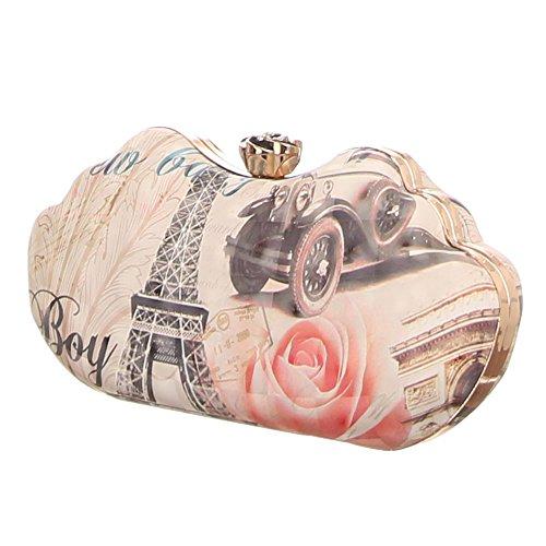 Ital-DesignClutch-tasche Bei Ital-design - Bolso de botón Mujer beige