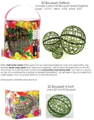 EZ Bouquet Floral Arranger ~ Make Your Own Flower Arrangements, Pomanders, & - Arrangement Bouquet