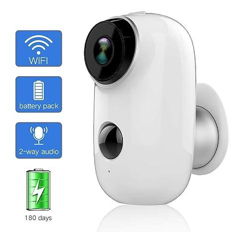 YANGSANJIN Cámara de Seguridad,Cámara IP WiFi HD CCTV Video House ...