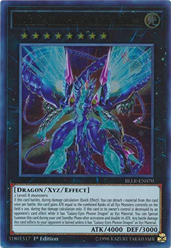 Yu-Gi-Oh! - Number 62: Galaxy-Eyes Prime Photon Dragon - BLLR-EN070 - Ultra Rare - 1st Edition - Battles of Legend: Light's Revenge (Best Galaxy Eyes Photon Dragon Deck)
