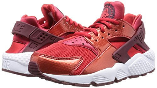 Red University Mesh 605 Air Notte Granata Bianco Sneakers Huarache Pelle Nike Rosso Donna Run qSxFFw