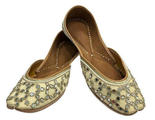 Jutti Style Step Kameez Shoes N Ethnic Khussa Phulkari Salwar Indian Ladies WTw7Ywq6
