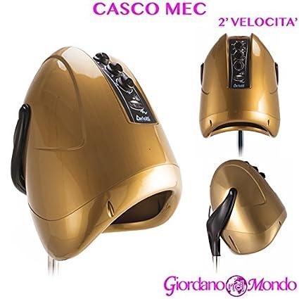 Casco pelo Peluquería 2 Velocita oro mec Ceriotti arredamento