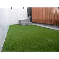 VerdeCasa Realistic Artificial Grass Rug Indoor/Outdoor Decorative Synthetic Grass Turf 1.57 Pile Height 5by 8