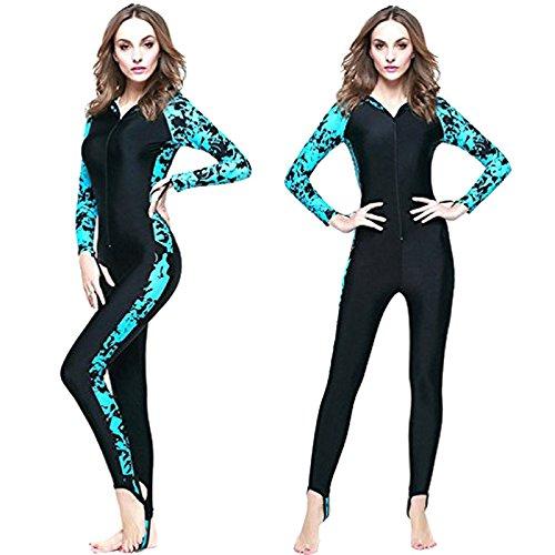 Semoss Flores Diseño Wetsuit UV Proteccion Traje Neopreno ...