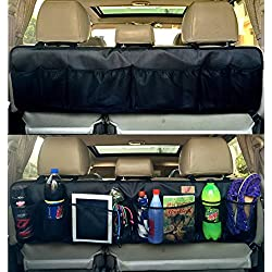 Autoark BackSeat/Trunk Organizer - Perfect Car Organizer,Trunk Organizer,Backseat Organizer,Multipurpose Cargo Accessories Organizer,Back Seat Storage Organizer,AK-031