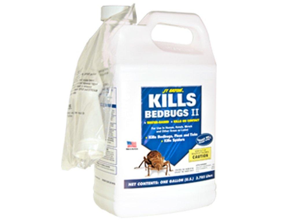 JT Eaton 207-W1G Kills Bedbugs II Water Based Bedbug Spray with Sprayer Attachment, 1-Gallon