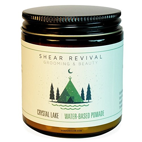 Shear Revival Crystal Lake Water Based Pomade America's Strongest Holding Water-based Pomade, 4 oz