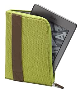 Amazon Kindle Zip Sleeve, Lime (fits Kindle Paperwhite, Kindle, and Kindle Touch)
