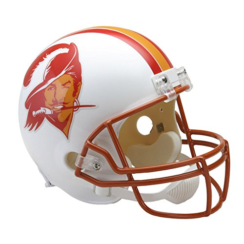 Tampa Bay Buccaneers 76-96 Officially Licensed Replica Throwback Football Helmet (Tampa Replica Helmet Football Bay Buccaneers)
