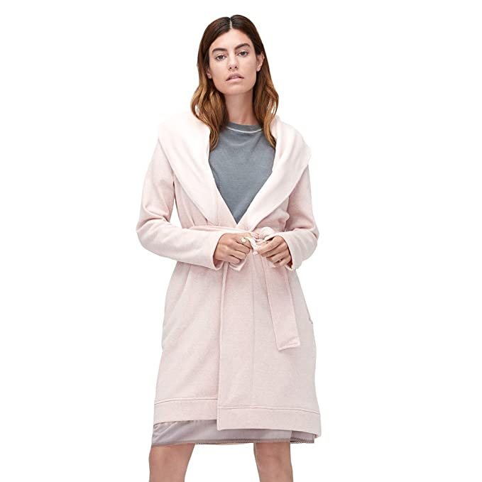 ae1671f232 UGG Women s Blanche Robe Women s Dusk Heather Rose X-Large  Amazon ...