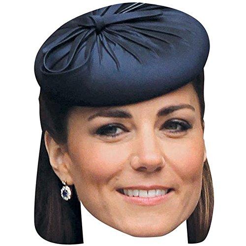 Kate Middleton Celebrity Mask, Card Face and Fancy Dress Mask]()