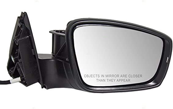 2011-2015 VOLKSWAGEN JETTA 2013-2015 VOLKSWAGEN PASSAT Convex Passenger Side Power Replacement Mirror Glass 2012-2015 VOLKSWAGEN BEETLE