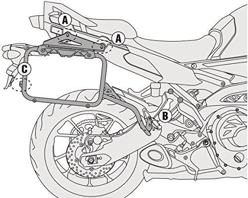 Givi PL2122CAM Saddlebag Holder For Trekker Outback Cases - Yamaha FJ-09 (09 Gear Bag)