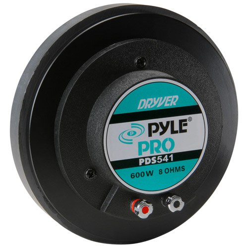 Pyle PDS541 2-Inch Titanium Horn Driver 8 Ohm 13/8-Inch x 18 TPI