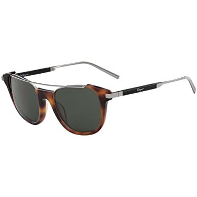 9ccf9b4f55 Amazon.com  Salvatore Ferragamo Men s SF160S Tortoise Sunglasses ...