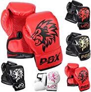 JP Kids Boxing Gloves - 2oz / 4oz Maya Hide Leather, Child Friendly Design with Velcro Closure System