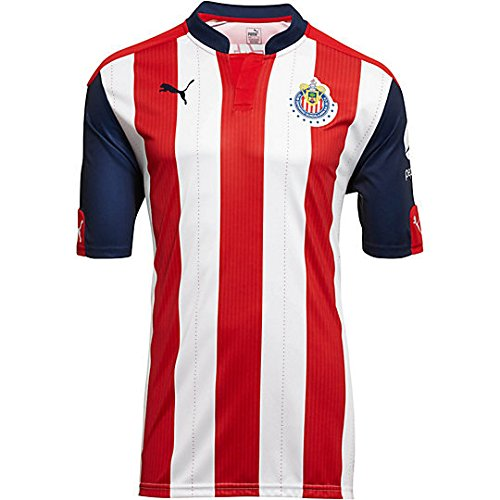 Puma Chivas KIDS Home 2016/17 Replica Jersey-RED (YL)