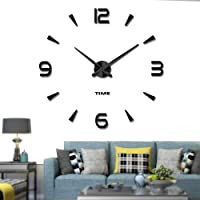 Vangold DIY Reloj de pared sin marco espejo
