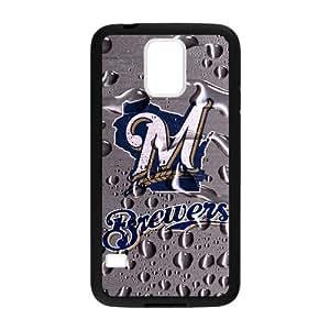 MLB - Milwaukee Brewers - Milwaukee Brewers - Custom Case for Samsung Galaxy S5. by runtopwell