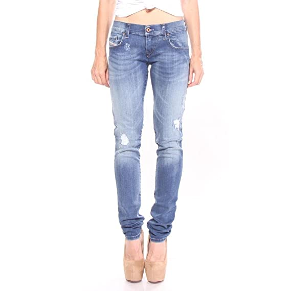 b495c2c5 Diesel - Grupee R8840 Super Slim-Skinny Low Waist Jeans Blue 25/30 Women