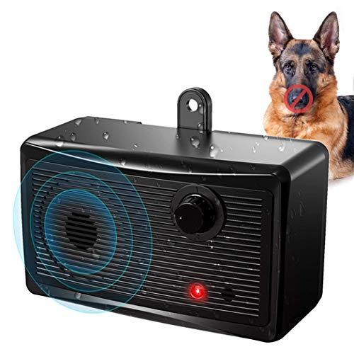Zigzagmars Anti Barking Control Device, 2020 Upgraded Ultrasonic Dog Bark Deterrent, Mini Sonic Anti-bark Repellent…