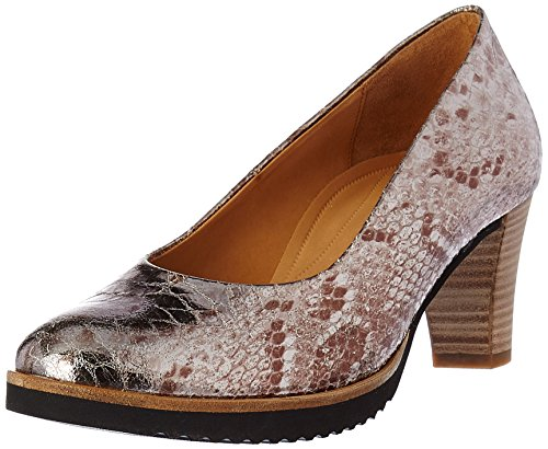 Gabor Shoes Damen Comfort Pumps 62.1 Grau (anthrazit Ss / C / Ac 92)