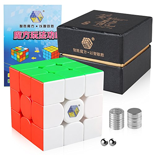 Coogam Yuxin Huanglong M Speed Cube Stickerless 3x3 Zhisheng Huang Long 3 Magnetic Puzzle Cube