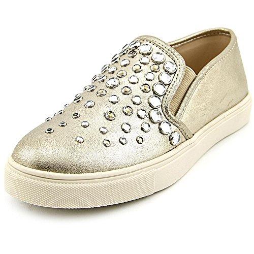 Steve Madden Women's Ellis Embellished Slip-On Sneakers, Metal Mult, Size 8.5 US