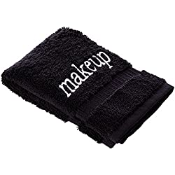 Luxury Black Cloth Turkish Cotton Make up Cleansing (Set of 6)