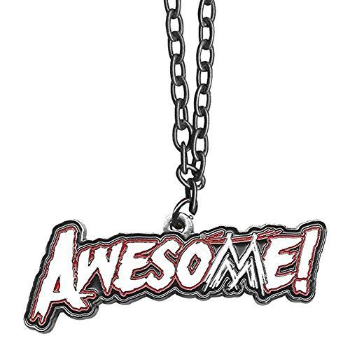 - WWE The Miz Awesome! Logo Pendant