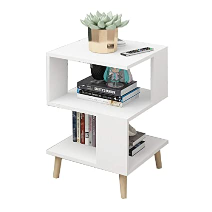 pretty nice 96579 83322 Amazon.com: Bedside table XIAODONG Side Table Coffee Table ...
