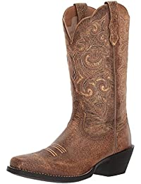 Women's Round up Square Toe Work Boot