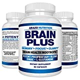 Best Focus Supplements - Brain Boost Nootropics for Memory, Focus, Clarity, Concentration Review