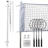 Franklin Sports Badminton - Starter, Family, Professional Sets (Renewed)