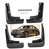 #6: Splash Guards Full Set Front Rear 2017-2019 Lincoln MKZ Mud Flaps