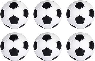 Siumir 6pcs Foosball Ball Plastic Mini Foosball 32mm